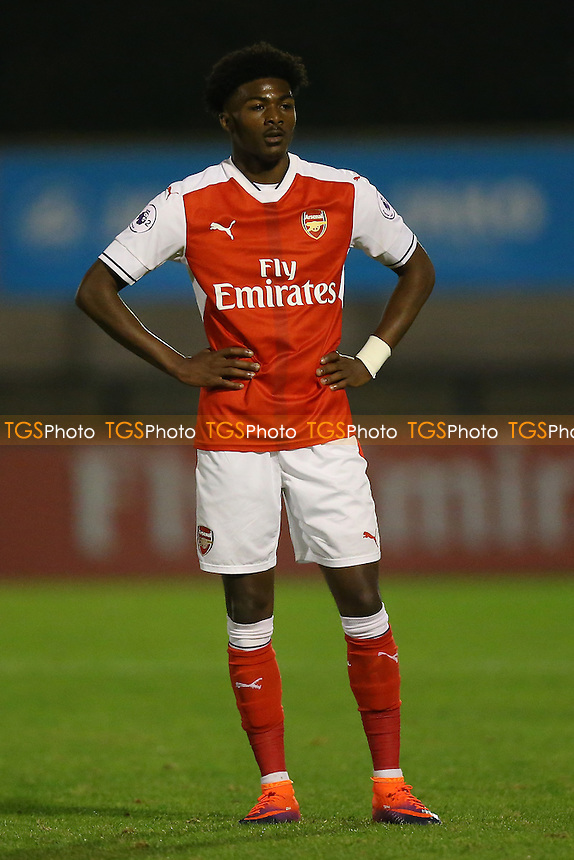 Ainsley Maitland-Niles of Arsenal during Arsenal Under-23 vs Southampton Under-23, Premier League 2 Football at Meadow Park on 14th October 2016