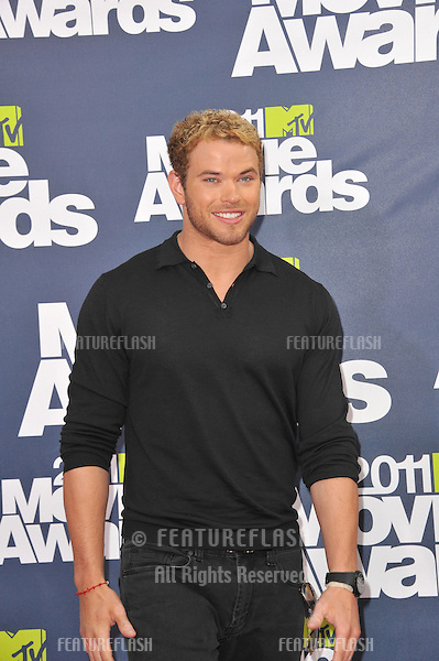 Kellen Lutz at the 2011 MTV Movie Awards at the Gibson Amphitheatre, Universal Studios, Hollywood..June 5, 2011  Los Angeles, CA.Picture: Paul Smith / Featureflash