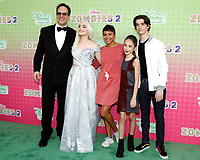 """LOS ANGELES - JAN 25:  Diedrich Bader, Meg Donnelly, Carly Hughes, Julia Butters, Daniel DiMaggio at the """"Zombies 2"""" Screening at the Disney Studios on January 25, 2020 in Burbank, CA"""