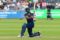 Varun Chopra hits six runs for Essex during Gloucestershire vs Essex Eagles, NatWest T20 Blast Cricket at The Brightside Ground on 13th August 2017