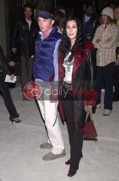 Cher and Elija Blue