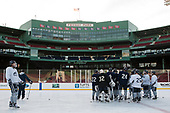 - The University of New Hampshire Wildcats practiced at Fenway on Friday, January 13, 2017, in Boston, Massachusetts.