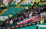 29.12.2019 Celtic v Rangers: Rangers fans already in the stadium