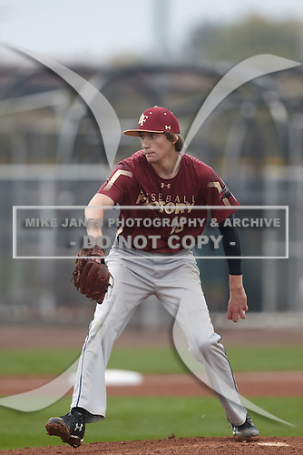 Matt Turner (16) of Miami Palmetto Senior Hs High School in Miami, Florida during the Under Armour All-American Pre-Season Tournament presented by Baseball Factory on January 15, 2017 at Sloan Park in Mesa, Arizona.  (Kevin C. Cox/Mike Janes Photography)