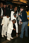 Kim Porter  with her sons Christian and Justin<br />Attending the opening night performance of A RAISIN IN THE SUN at the Royale Theatre in New York City.<br />April 26, 2004