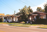 Alameda CA: California Bungalows, circa 1915-20. Photo '76.