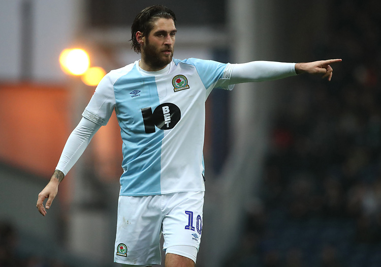 Blackburn Rovers' Danny Graham<br /> <br /> Photographer Rachel Holborn/CameraSport<br /> <br /> The EFL Sky Bet Championship - Blackburn Rovers v Sheffield Wednesday - Saturday 1st December 2018 - Ewood Park - Blackburn<br /> <br /> World Copyright &copy; 2018 CameraSport. All rights reserved. 43 Linden Ave. Countesthorpe. Leicester. England. LE8 5PG - Tel: +44 (0) 116 277 4147 - admin@camerasport.com - www.camerasport.com