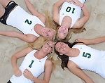 Tulane Sand Volleyball - Team Shoot