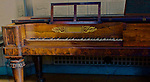Antique piano, Stephen Foster Museum, University of Pittsburgh