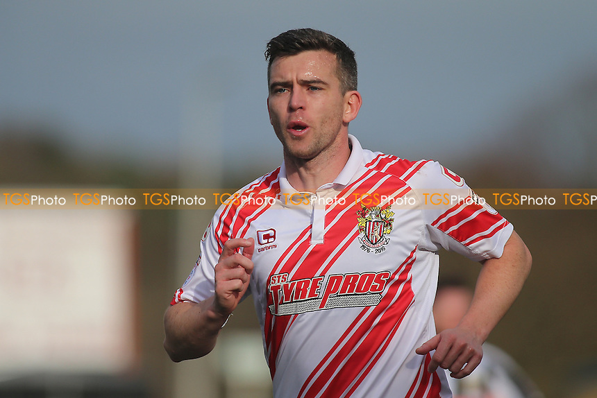 Steven Schumacher of Stevenage during Stevenage vs Notts County, Sky Bet EFL League 2 Football at the Lamex Stadium on 4th March 2017