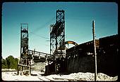 Rotary loader, east side of Salida yards.<br /> D&amp;RGW  Salida, CO