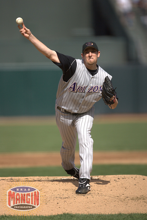 Brandon Webb. Arizona Diamondbacks vs San Francisco Giants. San Francisco, CA 6/23/2005 MANDATORY CREDIT: Brad Mangin