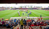 Picture by Allan McKenzie/SWpix.com - 22/04/2018 - Rugby League - Ladbrokes Challenge Cup - York City Knight v Catalans Dragons - Bootham Crescent, York, England - A general view, gv, of York's Bootham Crescent.