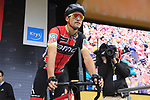 Olympic Champion Greg Van Avermaet (BEL) BMC Racing Team at sign on in Dusseldorf before the start of Stage 2 of the 104th edition of the Tour de France 2017, running 203.5km from Dusseldorf, Germany to Liege, Belgium. 2nd July 2017.<br /> Picture: Eoin Clarke | Cyclefile<br /> <br /> <br /> All photos usage must carry mandatory copyright credit (&copy; Cyclefile | Eoin Clarke)