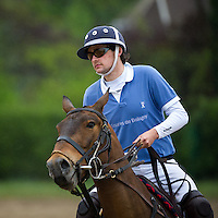 Hugues Bonte at the 'Challenge des Grandes Ecoles' polo matches at the Polo Club de Chantilly at Apremont, close to Chantilly, in the Oise department of Picardy, approximately 40k (25 miles) to the north east of Paris. An initiative of Dan Deville, president of the Association des Grandes Ecoles, Ecoles et Université de France. The Polo Club consists of 205 hectares and, during the polo season, houses 500 polo ponies. Chantilly is famous for the Château de Chantilly, home to the princes of Condé, cousins of the kings of France from the 17th to 19th centuries, and is well known for its horse racing and as the home of the Living Museum of the Horse. Saturday 26th April 2014.