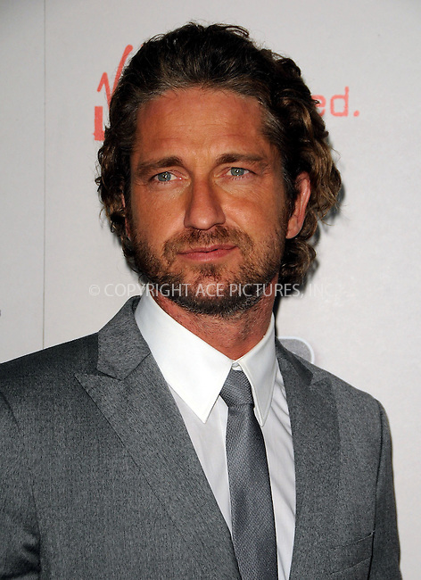 WWW.ACEPIXS.COM . . . . .  ....September 21 2011, LA....Actor Gerard Butler arriving at the 'Machine Gun Preacher' premiere at the Academy of Television Arts & Sciences on September 21, 2011 in Beverly Hills, California.....Please byline: PETER WEST - ACE PICTURES.... *** ***..Ace Pictures, Inc:  ..Philip Vaughan (212) 243-8787 or (646) 679 0430..e-mail: info@acepixs.com..web: http://www.acepixs.com