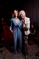 Ulyanna Sergeenko, Natalia Vodianova and Elena von Unworth- Paris Haute Couture<br /> Paris Fashion week Haute Couture 2019<br /> Paris, France on July 01, 2019.<br /> CAP/GOL<br /> ©GOL/Capital Pictures