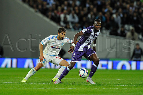 23.09.2015. Toulouse, France. French League 1 football. Toulouse versus Marseille.  Tongo Doumbia (tfc)