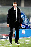Roma's coach French Rudi Garcia in action during the Serie A football match Chievo Verona vs Roma at Verona, on March 22, 2014. © Pierre Teyssot