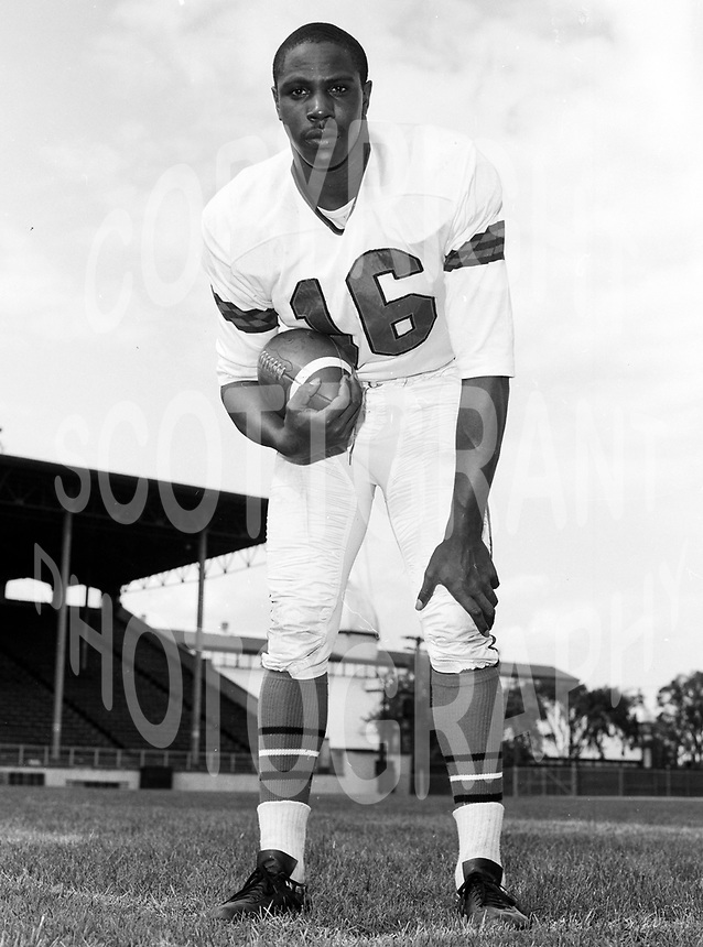 Bo Scott Ottawa Rough Riders 1965. Copyright photograph Scott Grant