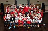 St David's Day, at Mayals Primary School in Swansea, Wales, UK. Wednesday 01 March 2017