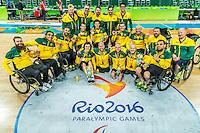 2016 Rio_Para - Wheelchair Rugby