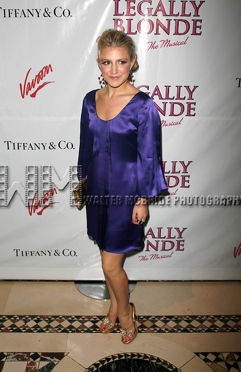 Annaleigh Ashford.attending the Opening Night after party for LEGALLY BLONDE - The Musical at Cipriani 42nd Street in New York City..April 29, 2007.© Walter McBride /