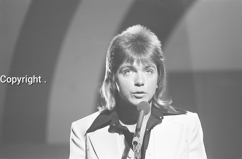 David Cassidy,in Holland, 3 July 1975