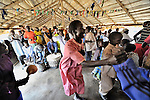 Sunday morning worship at the United Methodist Church in Yei, a town in Central Equatoria State in Southern Sudan. NOTE: In July 2011, Southern Sudan became the independent country of South Sudan