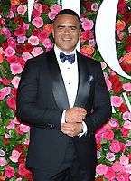 NEW YORK, NY - JUNE 10:  Christopher Jackson attends the 72nd Annual Tony Awards at Radio City Music Hall on June 10, 2018 in New York City.  <br /> CAP/MPI/JP<br /> &copy;JP/MPI/Capital Pictures