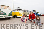Enjoying the VW Camper event in Camp on Saturday was l-r  Molly Palmer, Jade Holmes Collins and Isabel Holmes Collins