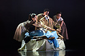 """London, UK. 15.03.2018. Ballet Black presents a double bill of """"The Suit"""", choreographed by Cathy Marston, and """"A Dream Within A Midsummer Night's Dream"""", choreographed by Arthur Pita, in the Barbican theatre. Shown here is: """"The Suit"""". Picture shows: XXX. Photograph © Jane Hobson."""
