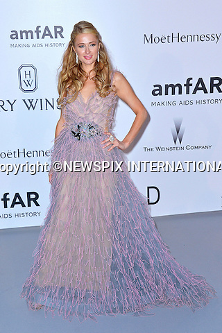 12.05.2015, Antibes; France: APARIS HILTON<br /> attends the Cinema Against AIDS amfAR gala 2015 held at the Hotel du Cap, Eden Roc in Cap d'Antibes.<br /> MANDATORY PHOTO CREDIT: &copy;Thibault Daliphard/NEWSPIX INTERNATIONAL<br /> <br /> (Failure to credit will incur a surcharge of 100% of reproduction fees)<br /> <br /> **ALL FEES PAYABLE TO: &quot;NEWSPIX  INTERNATIONAL&quot;**<br /> <br /> Newspix International, 31 Chinnery Hill, Bishop's Stortford, ENGLAND CM23 3PS<br /> Tel:+441279 324672<br /> Fax: +441279656877<br /> Mobile:  07775681153<br /> e-mail: info@newspixinternational.co.uk