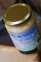Europe/France/73/Savoie/Val d'Isère: Miel de Savoie de la Ferme de l'Adroit à la boutique : La Fermette de Claudine