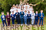 Pupils from Scoil Realt na Mara having just received their first Holy Communion