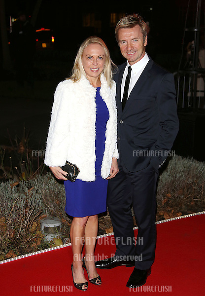 Jayne Torvill and Christopher Dean arriving for the Night of Heroes: The Sun Military Awards 2012 held at the Imperial War Museum, london, 06/12/2012 Picture by: Henry Harris / Featureflash