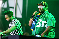 NOVA YORK, EUA, 02.09.2018 - BR DAY-EUA - Dennis DJ e Afrika Bambaataa durante o BR Day New York 2018 na cidade de Nova York nos Estados Unidos neste domingo, 02.(Foto: Vanessa Carvalho/Brazil Photo Press)