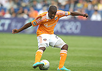 CARSON, CA - DECEMBER 01, 2012:  Boniek Garcia (27) of the Houston Dynamo during the 2012 MLS Cup at the Home Depot Center, in Carson, California on December 01, 2012. The Galaxy won 3-1.