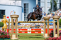 BEL-Gregory Wathelet rides Iron Man Van De Padenborre during the Rolex Grand Prix of Aachen - Round 1. 2019 GER-CHIO Aachen Weltfest des Pferdesports. Sunday 21 July. Copyright Photo: Libby Law Photography