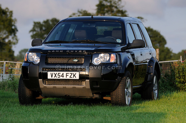Land Rover Freelander 2 prototype which started life as a stretched Freelander 1. Dunsfold Collection of Land Rovers Open Day 2011, Dunsfold, Surrey, UK. --- No releases available, but releases may not be necessary for certain uses. Automotive trademarks are the property of the trademark holder, authorization may be needed for some uses.