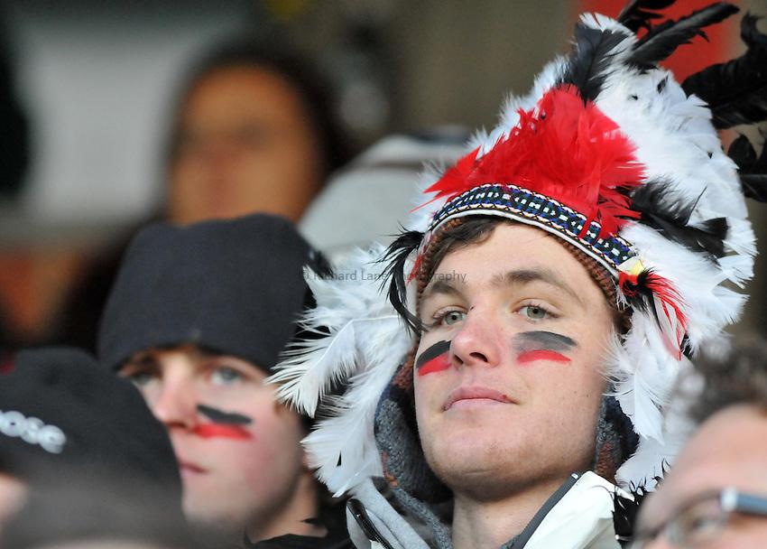 Photo: Tony Oudot/Richard Lane Photography. London Wasps v Exeter Chiefs. Aviva Premiership. 05/12/2010. .Exeter Chiefs Fan.