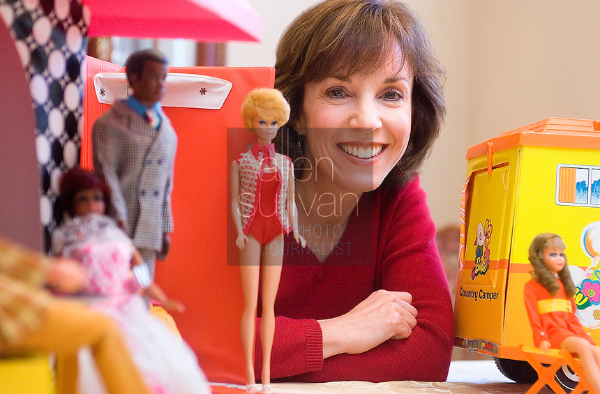 """Debby Stone, 46, has amassed a collection of Barbie dolls from the late 1960's and early 70's. """"I can't imagine selling them,"""" she said of the dolls, of which her mother once advised to hold on to. Stone's oldest doll dates to 1968 or 1969, she said. On March 9, Barbie will officially turn 50 years old."""