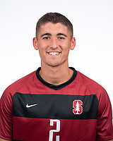 Stanford Soccer M Portraits, August 13, 2019