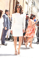 NEW YORK, NY - May 3: Priyanka Chopra at The View in New York city on May 3, 2018. Credit: RW/MediaPunch