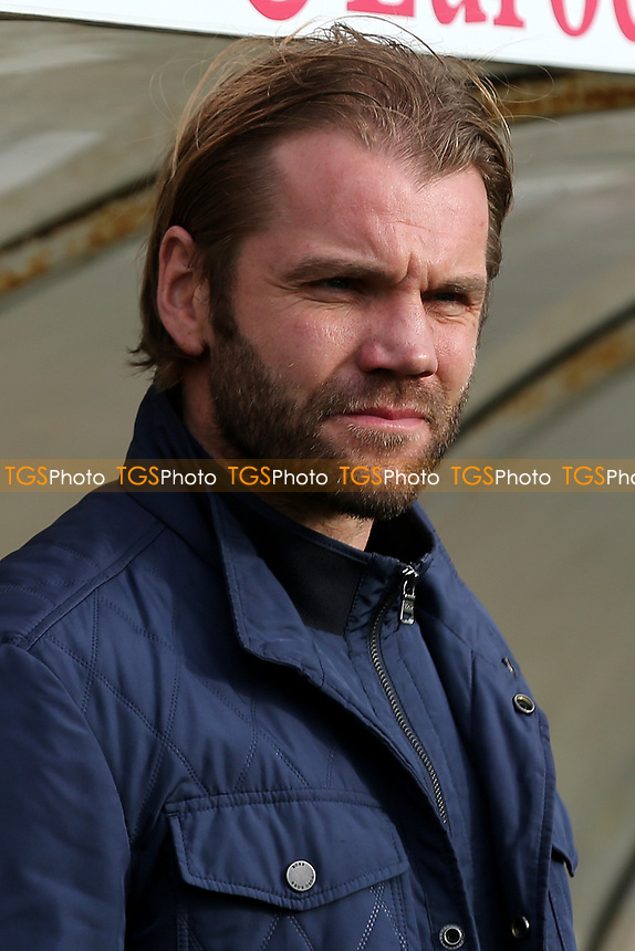 MK Dons Manager, Robbie Neilson during Bristol Rovers vs MK Dons, Sky Bet EFL League 1 Football at the Memorial Stadium on 28th October 2017