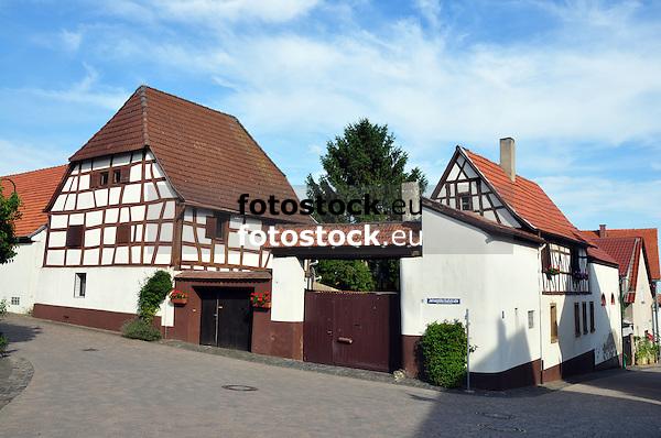 Hofanlage in der Johanniterhofstraße in Hangen-Weisheim