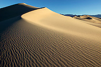 Sand dune in Mesquite Flat, Death Valley National Park, Californi