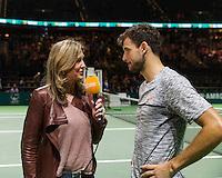 ABN AMRO World Tennis Tournament, Rotterdam, The Netherlands, 15 Februari, 2017, Grigor Dimitrov (BUL)<br /> Photo: Henk Koster
