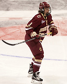 Serena Sommerfield (BC - 3) - The Boston College Eagles defeated the Boston University Terriers 3-2 in the first round of the Beanpot on Monday, January 31, 2017, at Matthews Arena in Boston, Massachusetts.