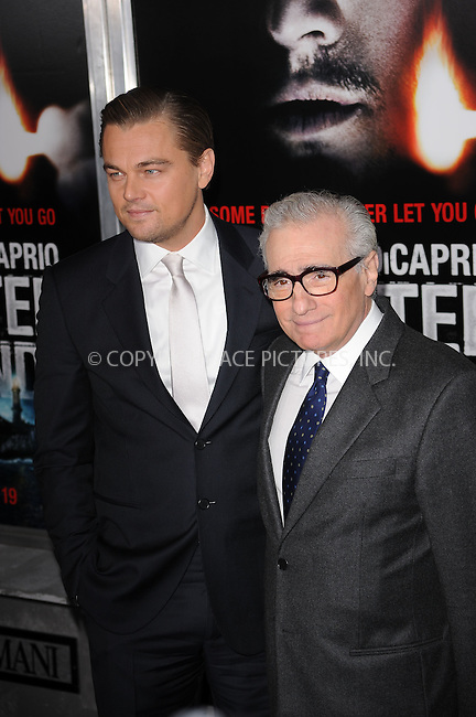 WWW.ACEPIXS.COM . . . . . ....February 17 2010, New York City....Actor Leonardo DiCaprio and Director Martin Scorsese arriving at the New York premiere of 'Shutter Island' at the Ziegfeld Theatre of February 17 2010 in New York City......Please byline: KRISTIN CALLAHAN - ACEPIXS.COM.. . . . . . ..Ace Pictures, Inc:  ..(212) 243-8787 or (646) 679 0430..e-mail: picturedesk@acepixs.com..web: http://www.acepixs.com